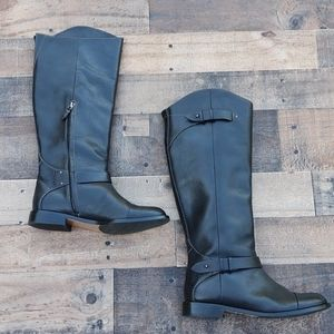 Halogen Kate leather riding boots Equestrian 8.5